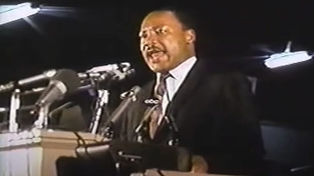 Martin Luther King Jr Mountaintop Speech