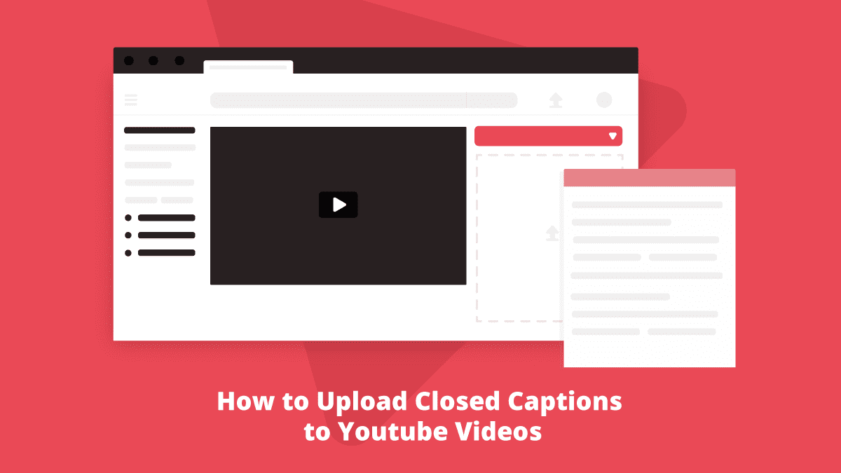 How to Upload Closed Captions to Youtube Videos