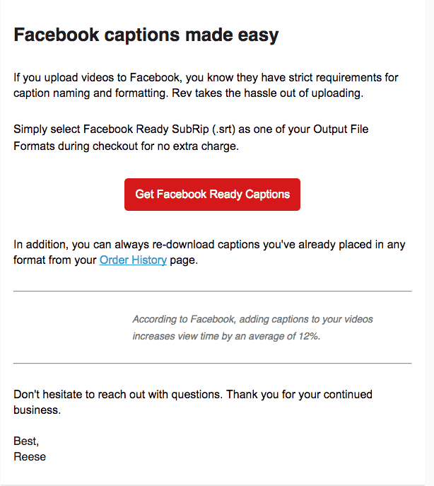 How to Add Captions to Videos on Facebook - Rev