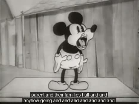 Mickey Mouse Caption