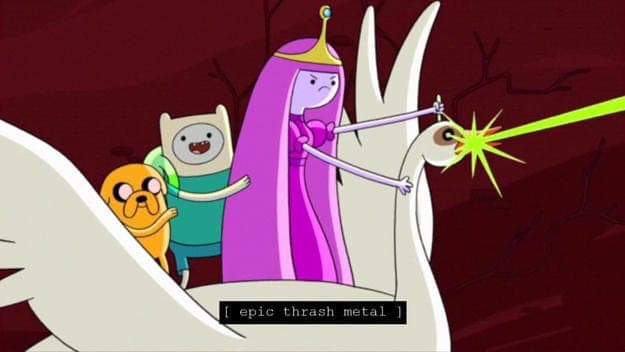 Adventure Time Caption