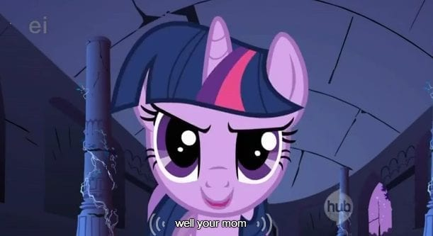 Pony Cartoon Caption