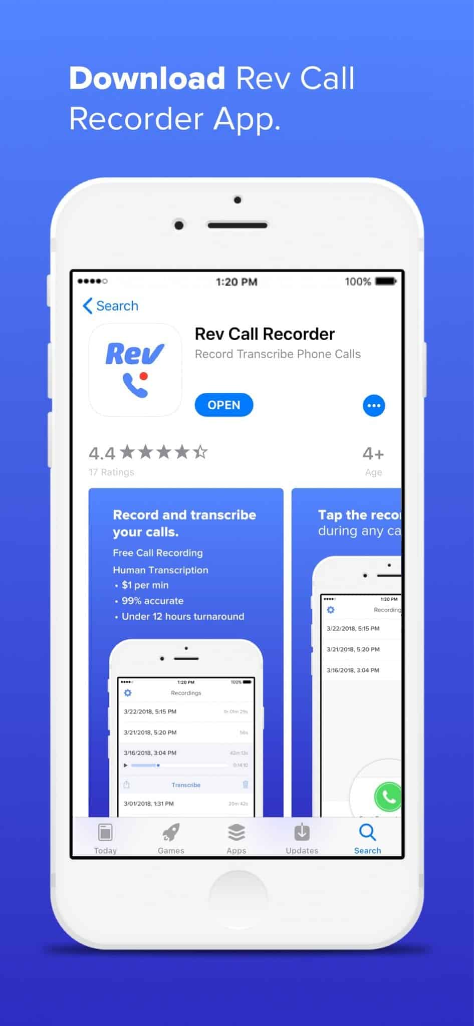 Download Rev Call Recorder