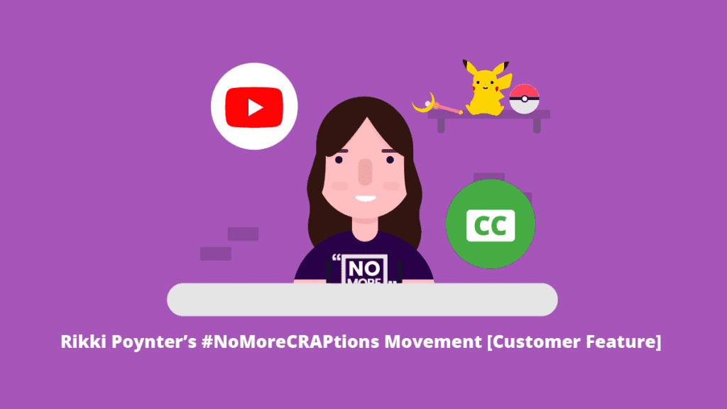Rikki Poynter's #NoMoreCRAPtions Movement [Customer Feature]