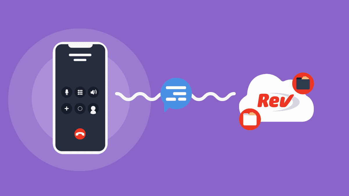 How to Transcribe Phone Calls with TapeACall's Rev Integration - Rev