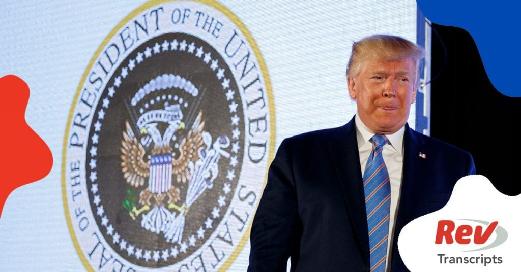 Donald Trump Speech Turning Point USA