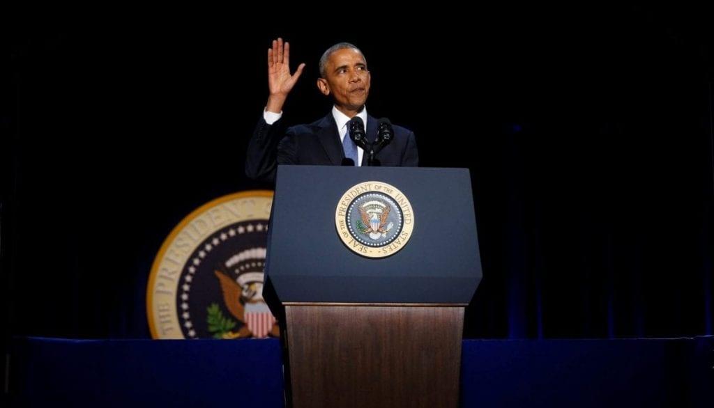 Obama Farewell Speech Transcript