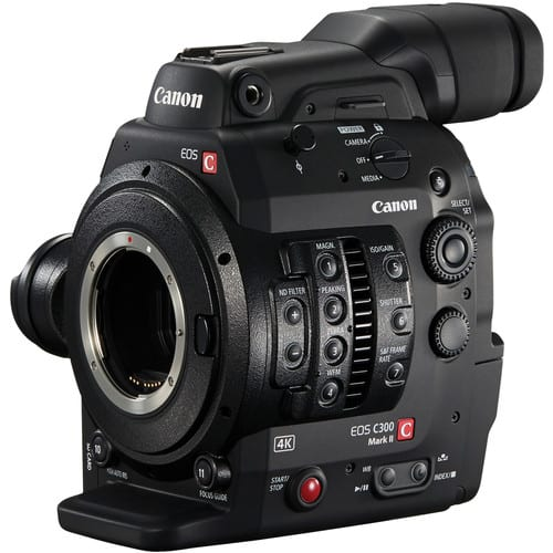 Canon C300 mk II for Documentaries