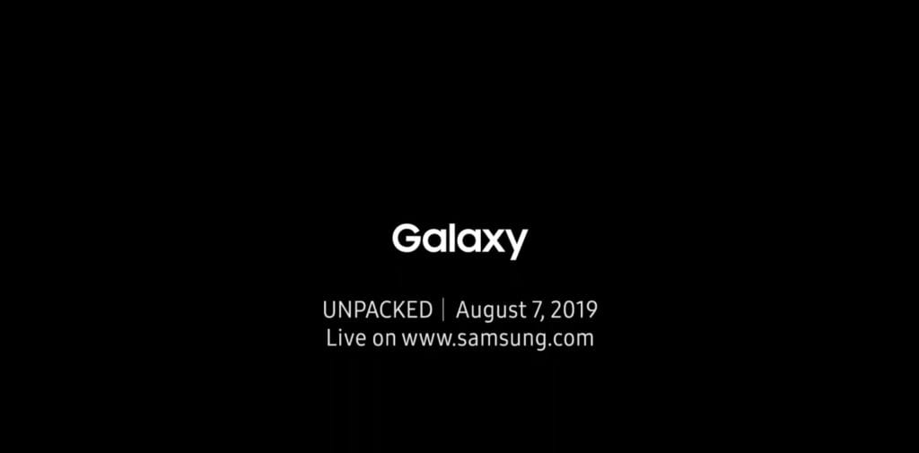 Galaxy Note 10 Announcement Transcript Samsung Unpacked