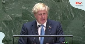 Boris Johnson Speech Transcript Brexit Chickens AI