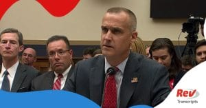 Corey Lewandowski House Testimony Transcript