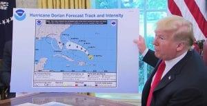 Trump Dorian Map Sharpie Transcript