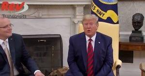 Trump Ukraine Whistleblower Joe Biden Son Transcript