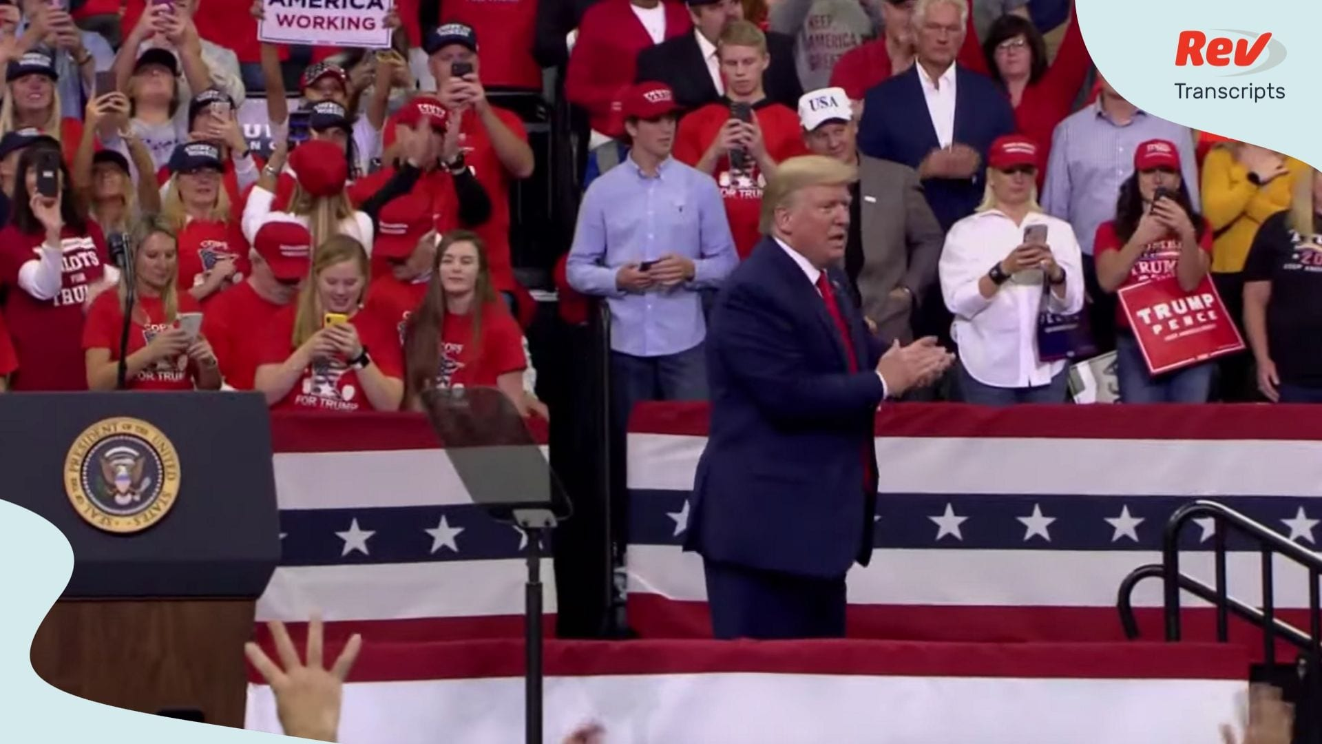 Donald Trump Minnesota Rally Speech Transcript