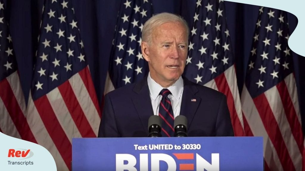 Joe Biden Town Hall Trump Impeachment Transcript