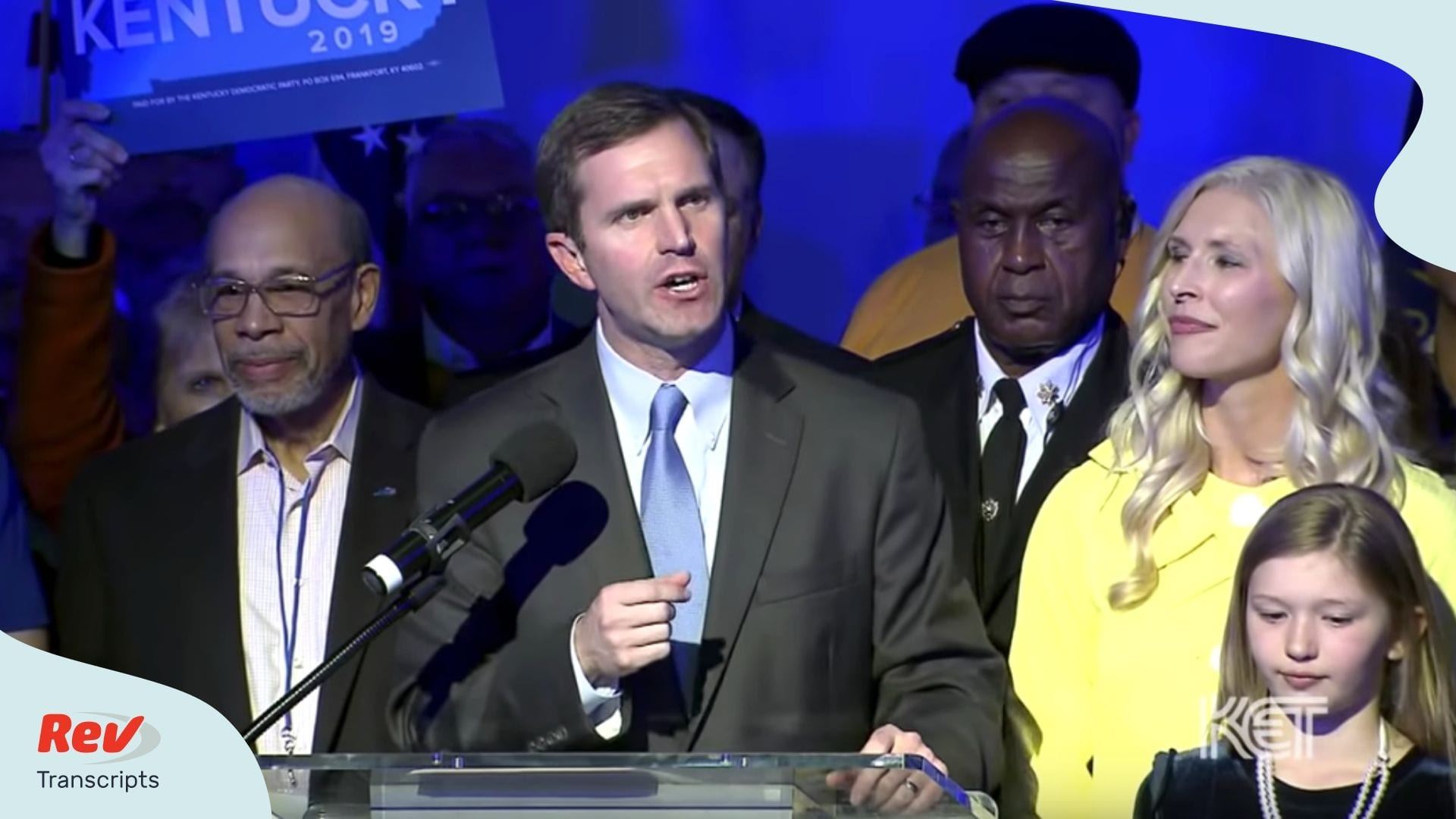 Andy Beshear Acceptance Speech Transctipt Kentucky Governor