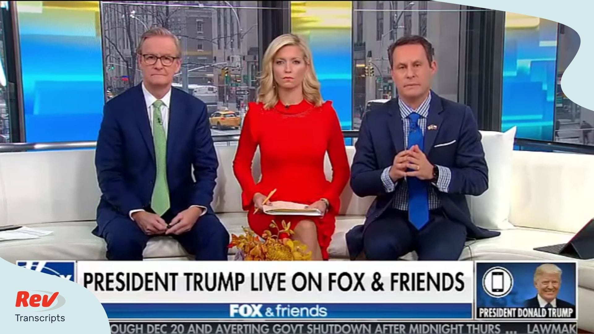 Donald Trump Fox and Friends Interview Transcript