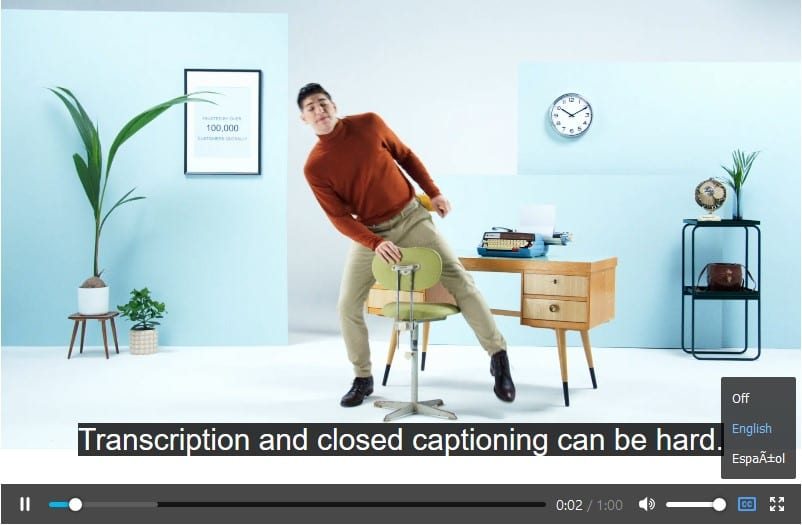 How to Add Captions and Subtitles to HTML5 Video