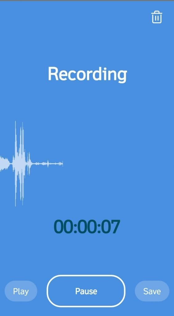 Rev Voice Recorder App for iPhone