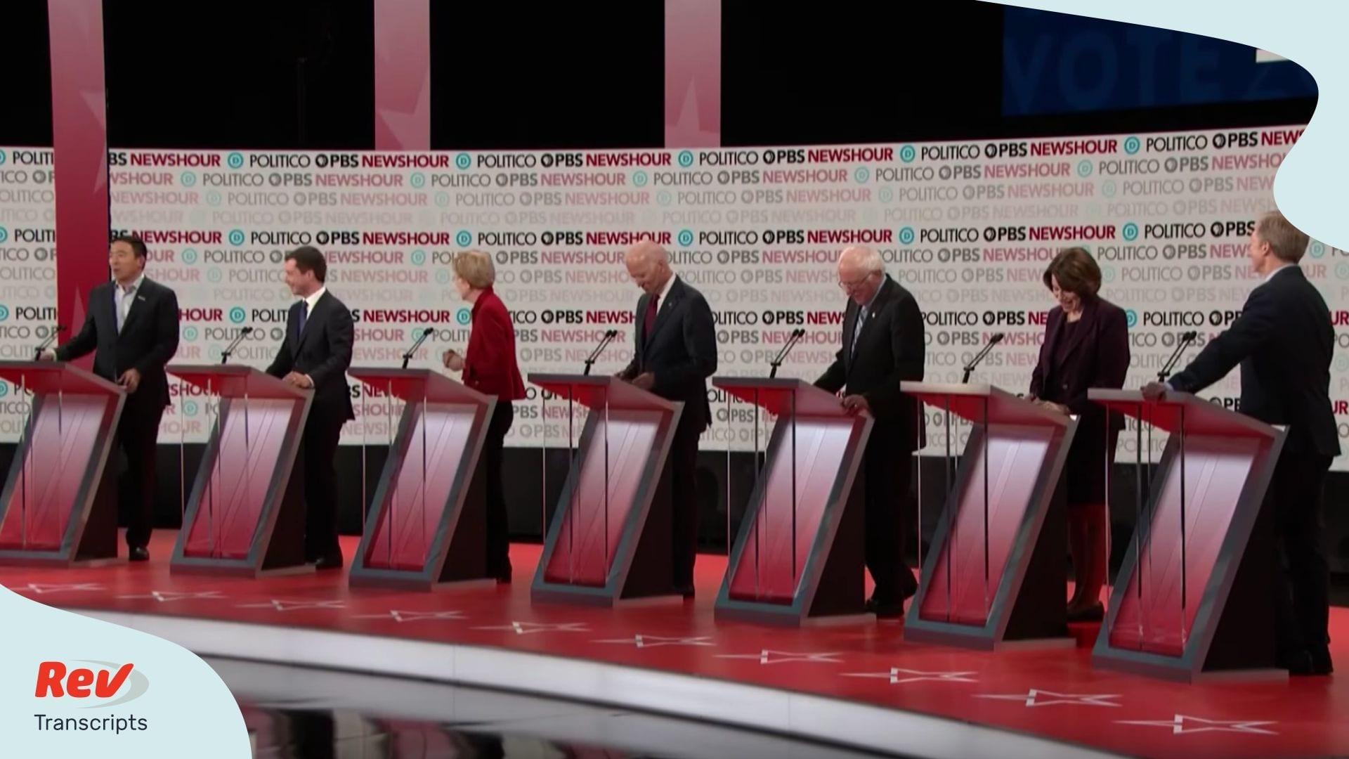 December Democratic Debate Transcript 6th Debate