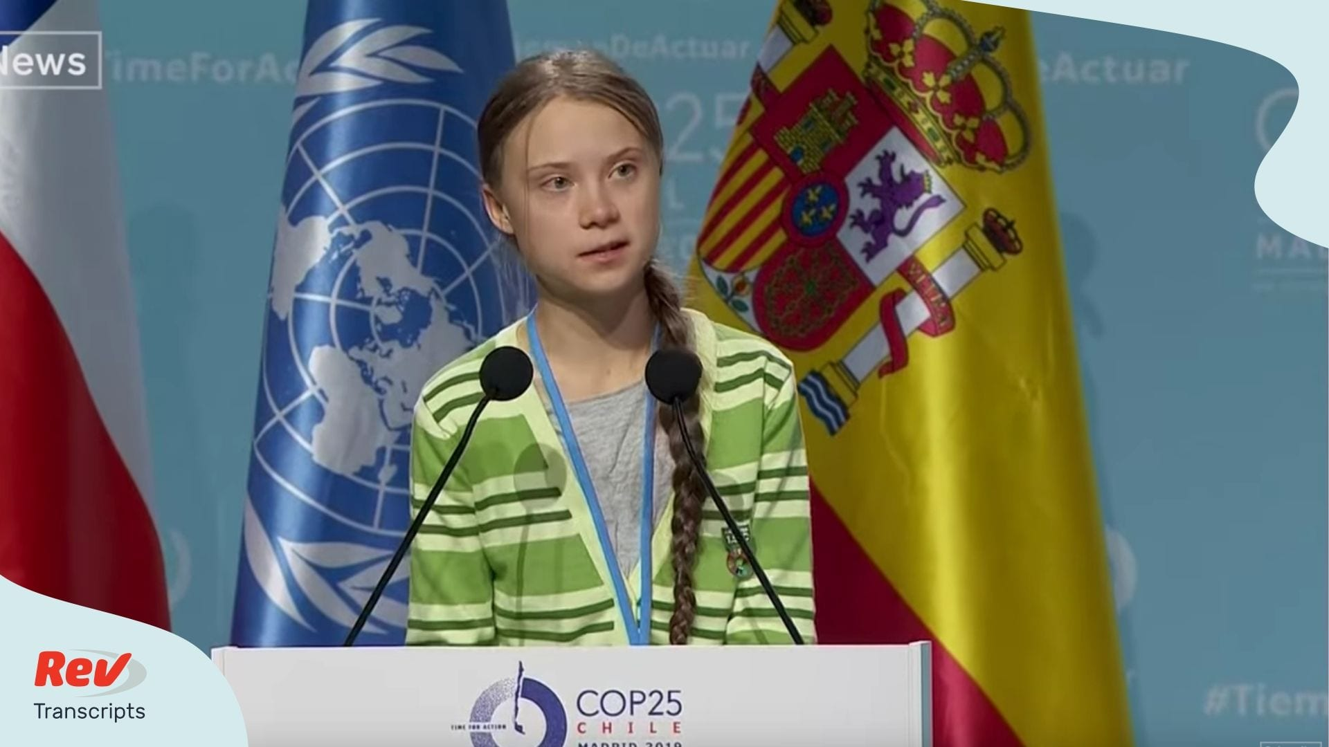 Greta Thunberg UN Climate Change Conference Speech Transcript