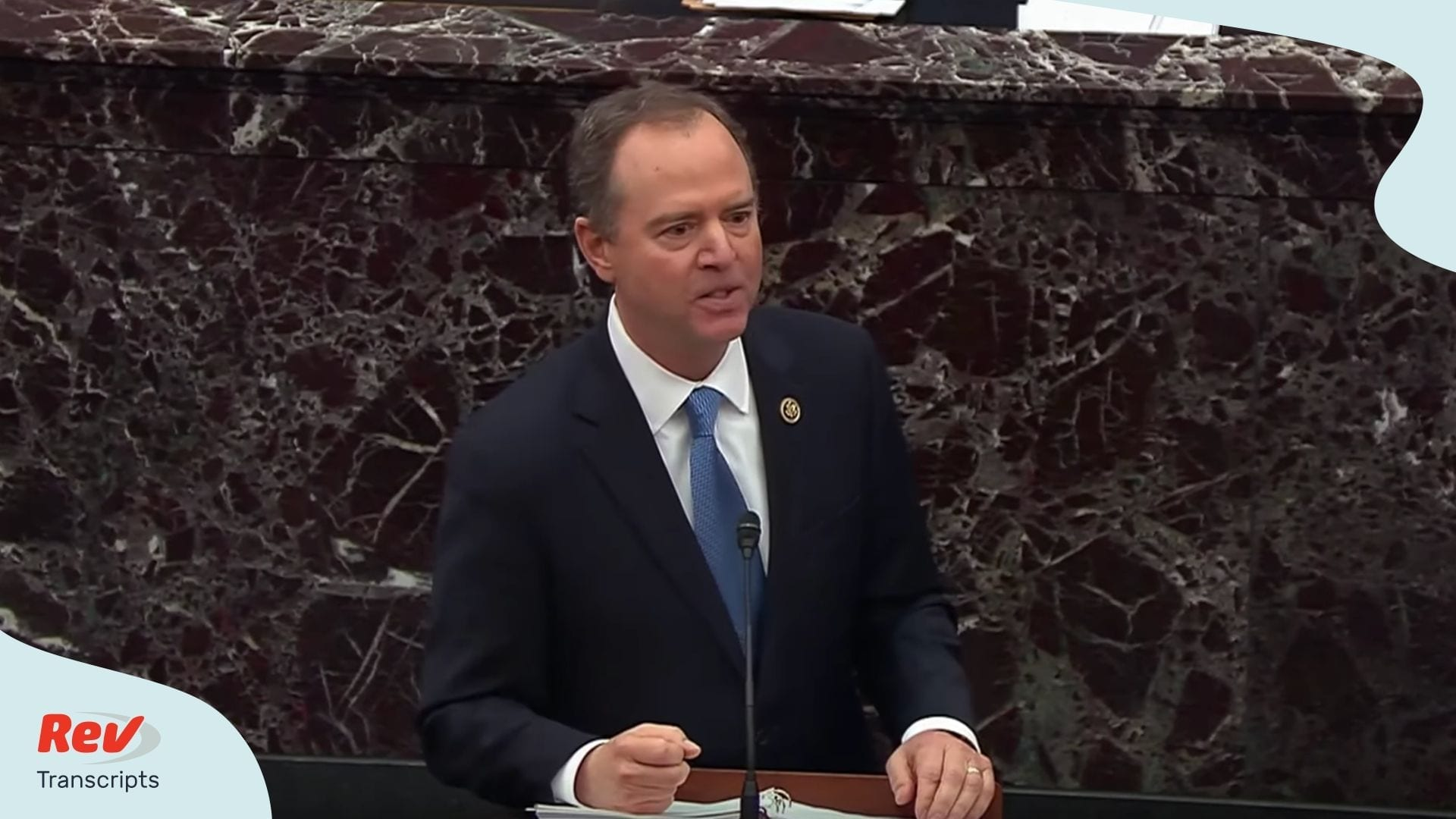 Adam Schiff Closing Argument Transcript Thursday Impeachment Trial