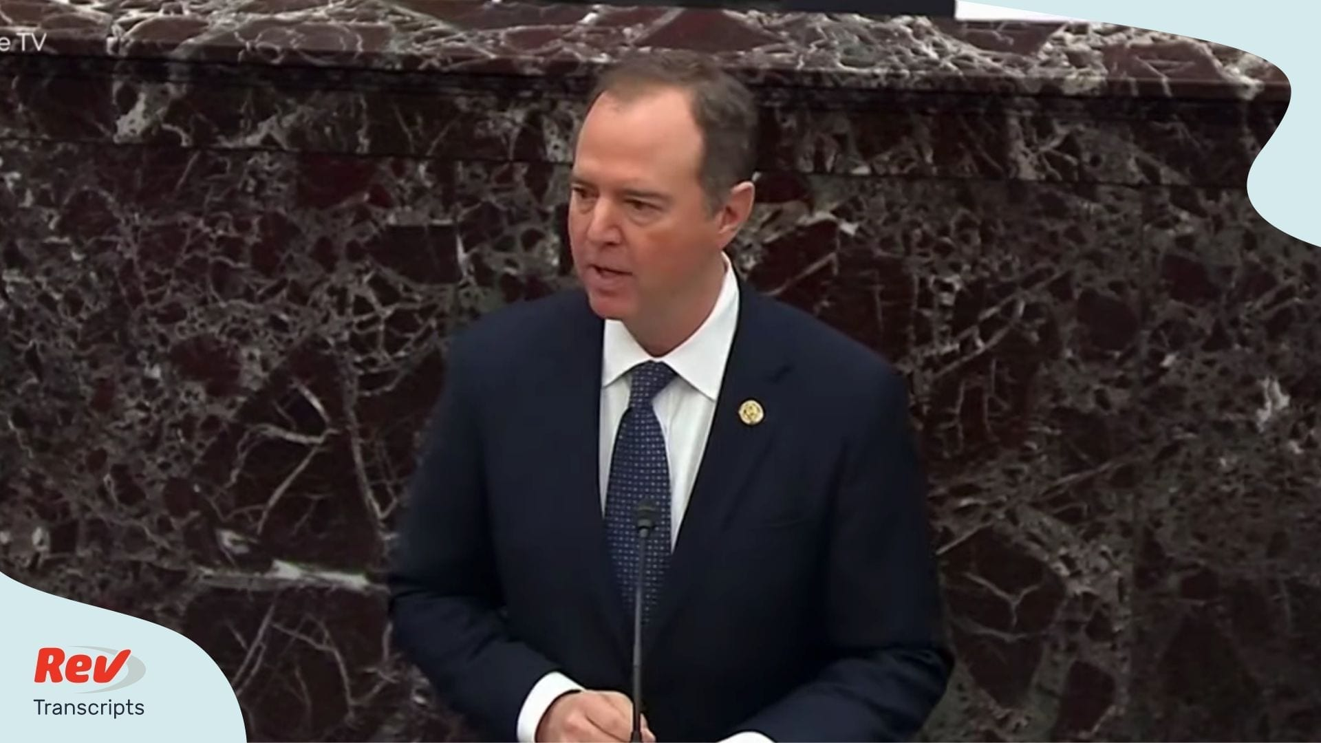 Adam Schiff Presentation Impeachment Trial Day 2 Transcript