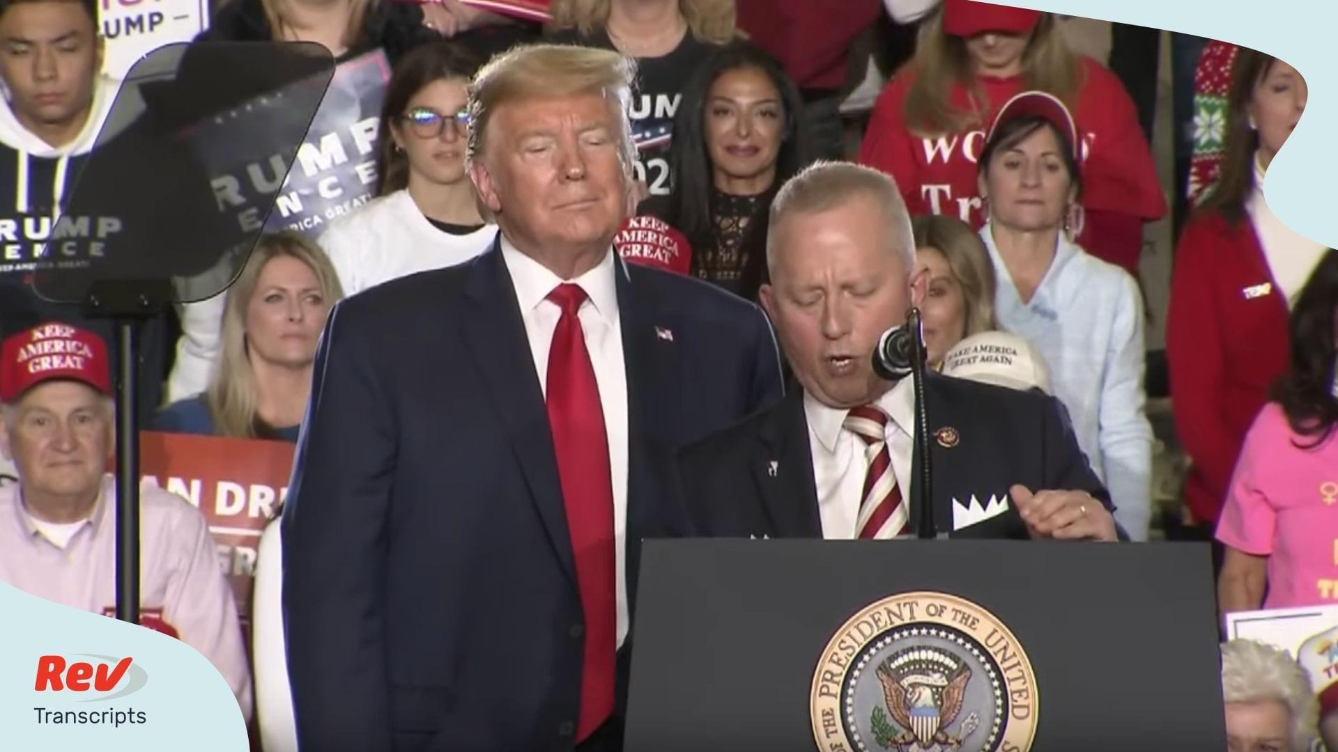 Donald Trump New Jersey Rally Transcript
