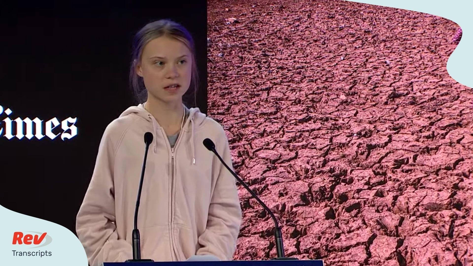 Greta Thunberg Davos Speech Transcript