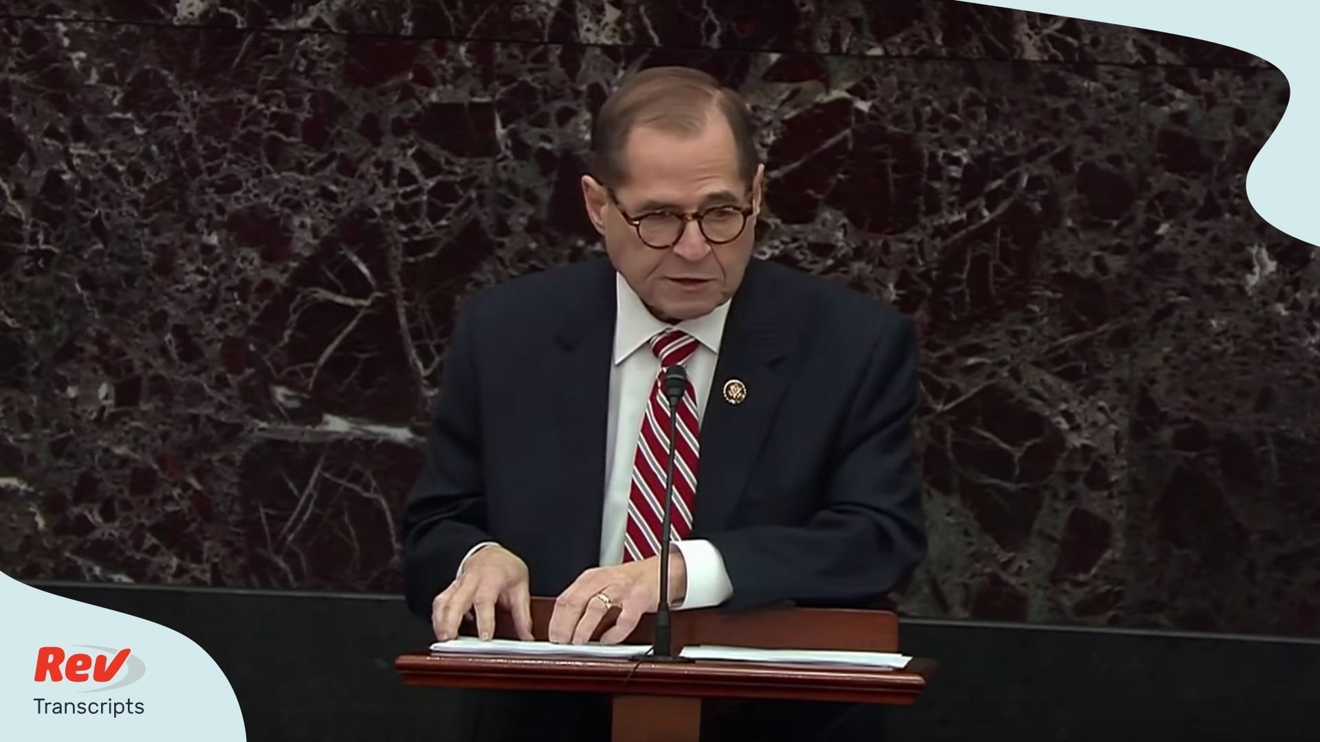 Jerry Nadler Impeachment Trial Argument Transcript - Day 2 of Impeachment Arguments