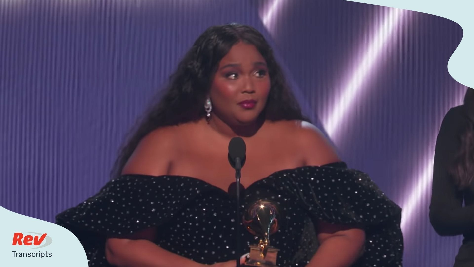 Lizzo Grammy Acceptance Speech Transcript