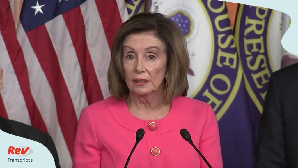 Nancy Pelosi Impeachment Manager Announcement Transcript