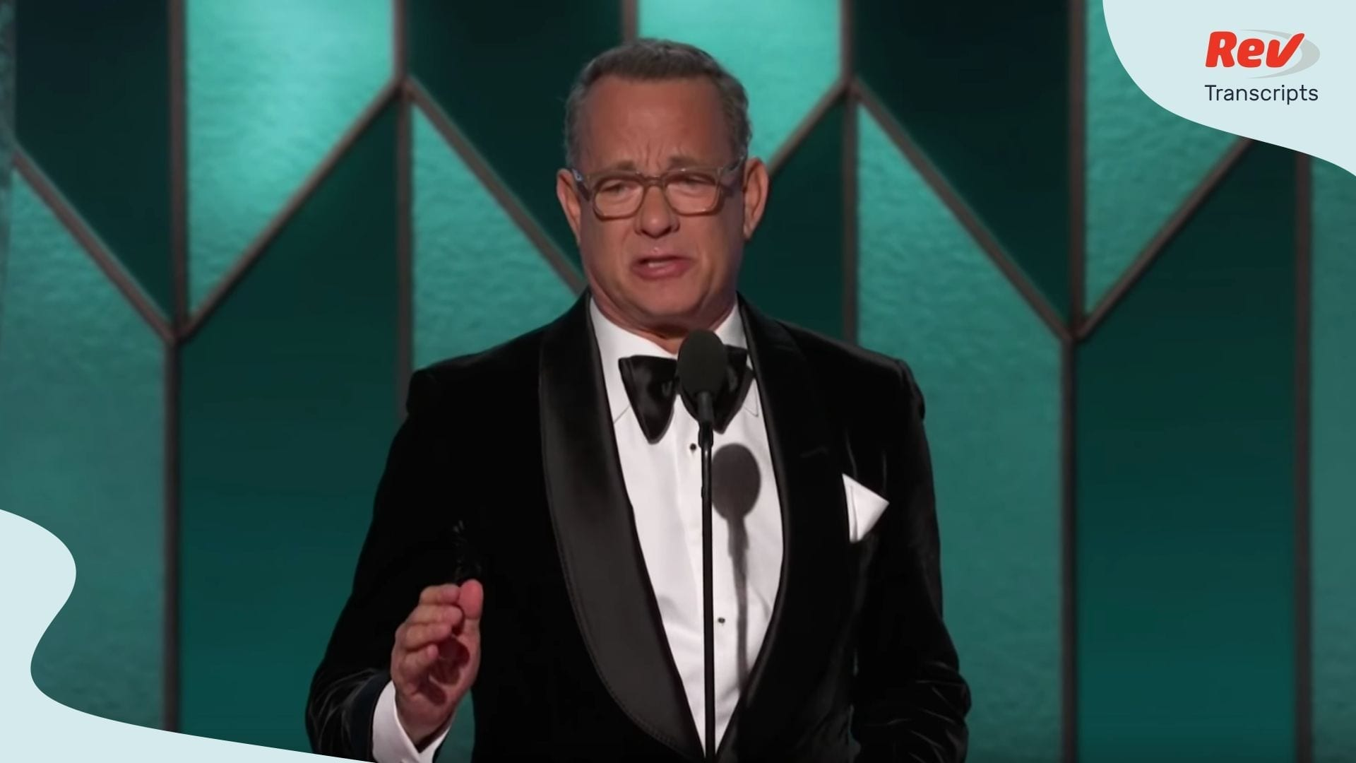 Tom Hanks Golden Globes Acceptance Speech Transcript