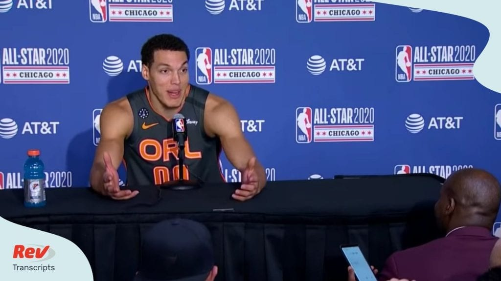 Aaron Gordon 2020 Dunk Contest Press Conference Transcript