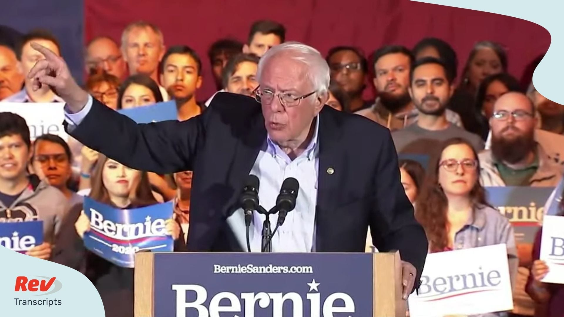 Bernie Sanders Nevada Caucus Speech Transcript