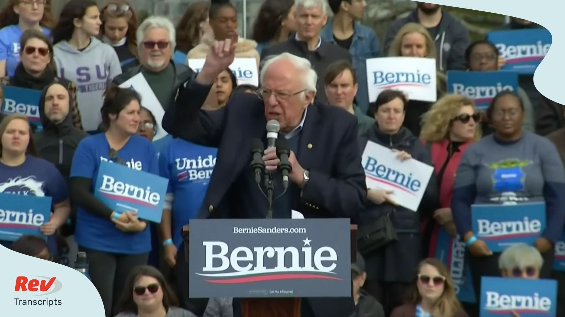 Bernie Sanders South Carolina Rally Transcript