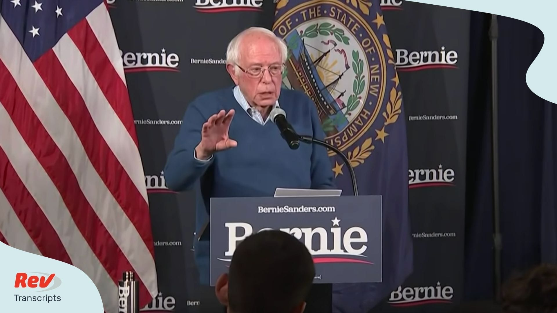 Bernie Sanders Speech Transcript During Delayed Iowa Results