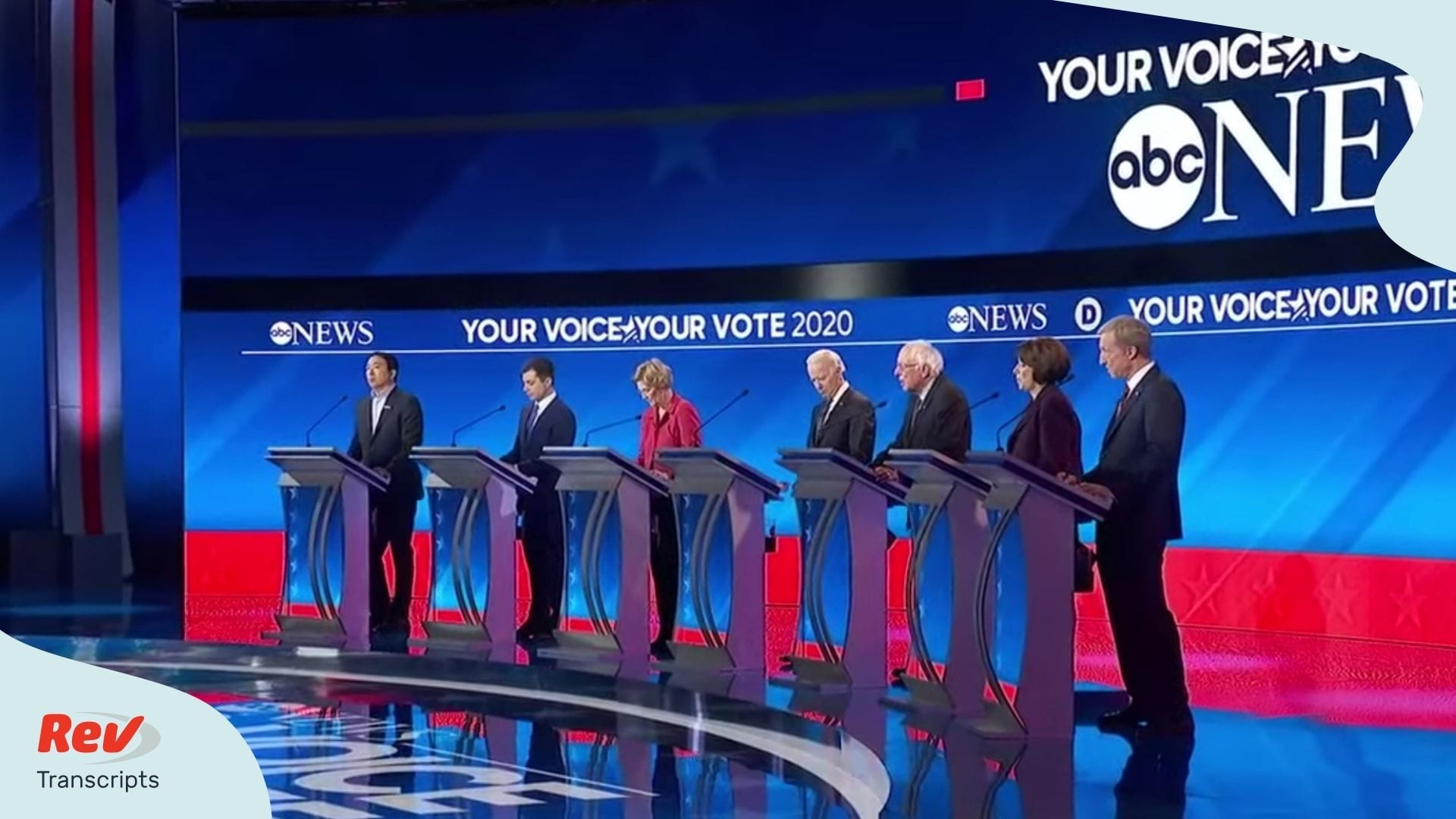 Democratic Debate New Hampshire Transcript Feb 7, 2020