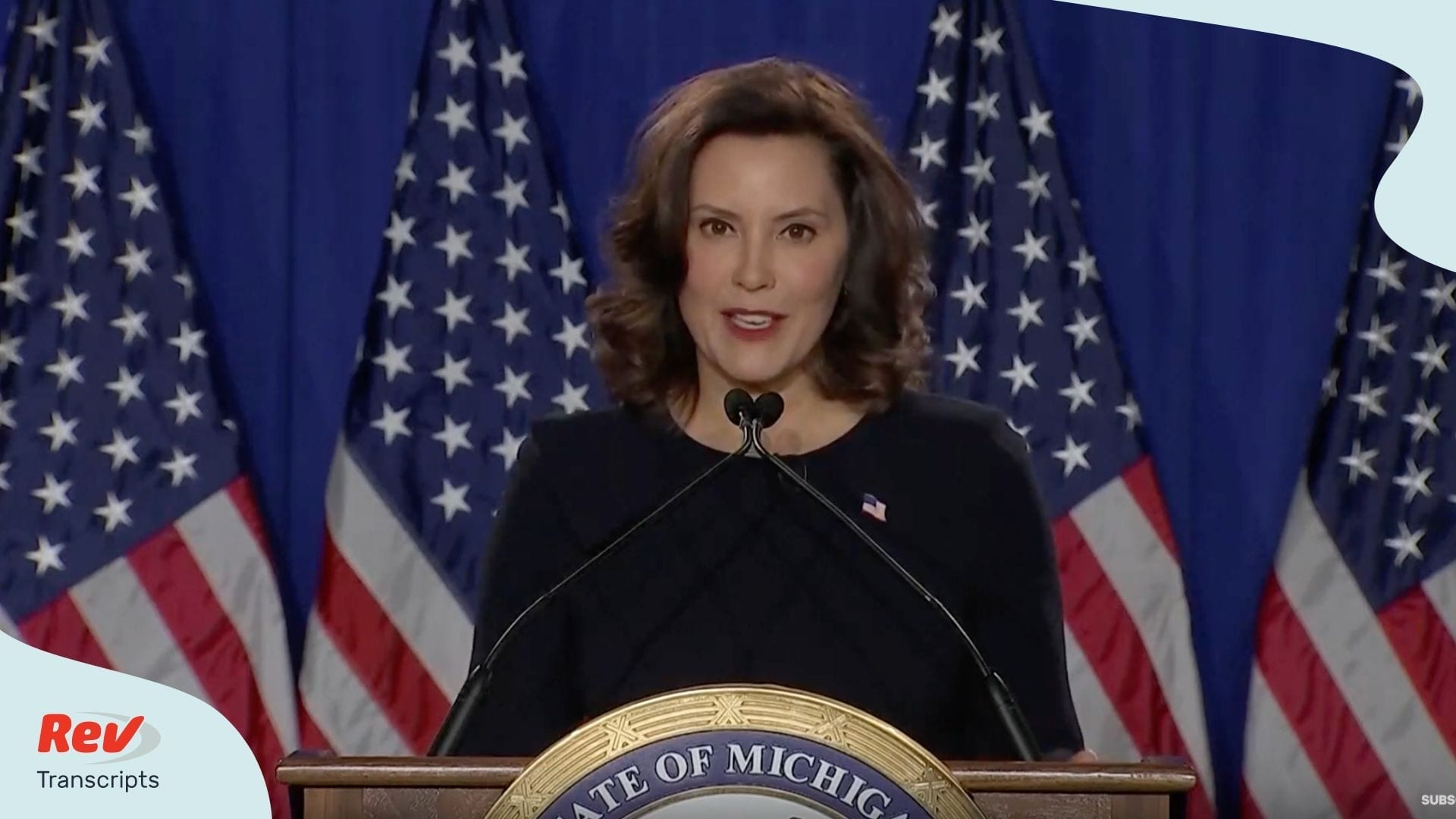Democratic Response to State of the Union Gretchen Whitmer