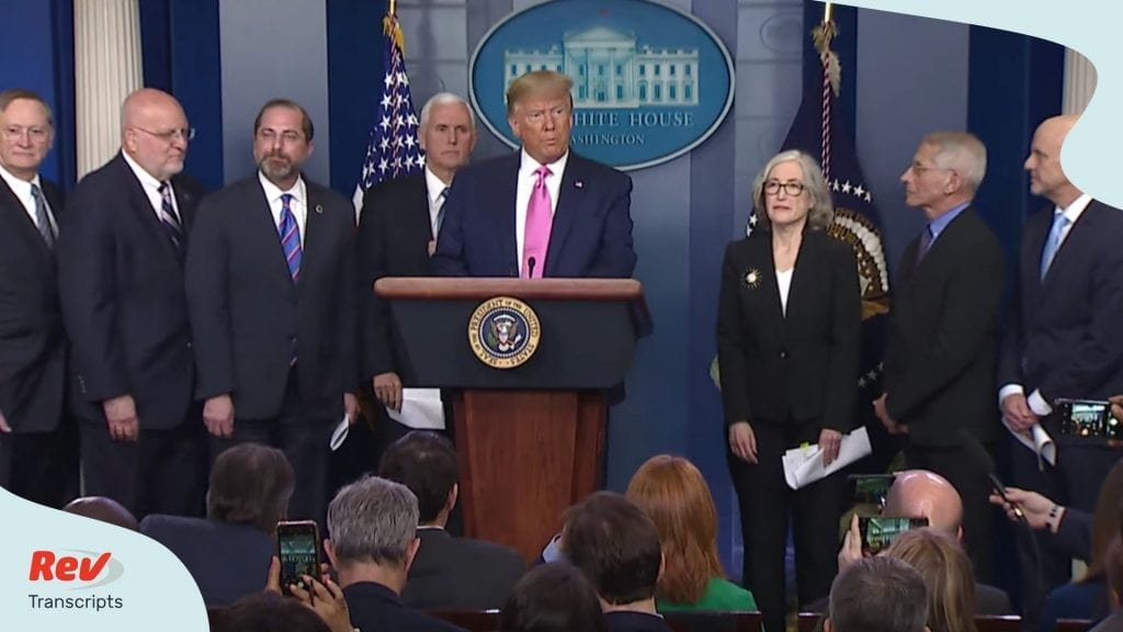 Donald Trump Coronavirus Press Conference Transcript