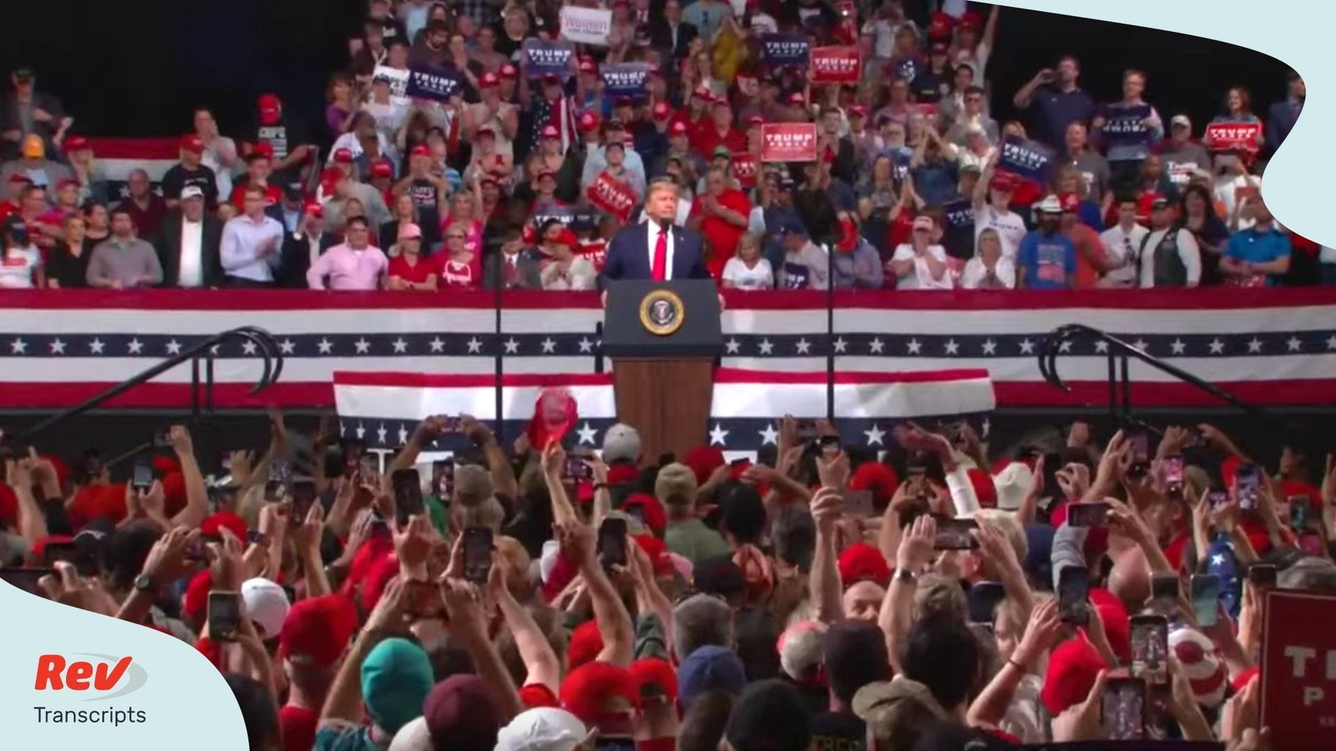 Donald Trump Phoenix Arizona Rally Transcript