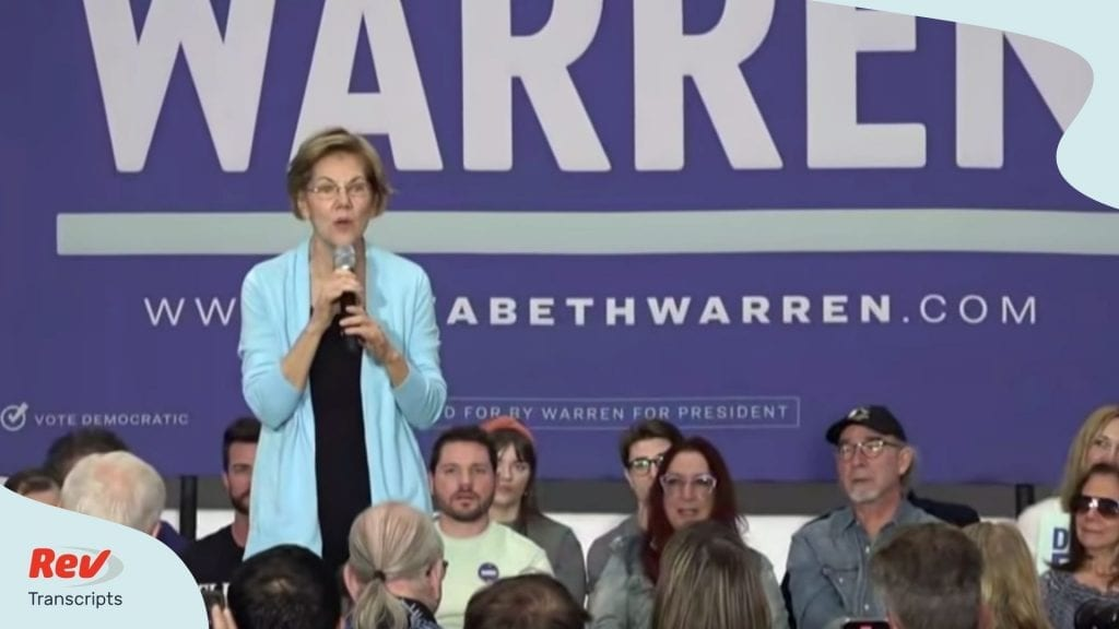 Elizabeth Warren Town Hall Nevada Transcript