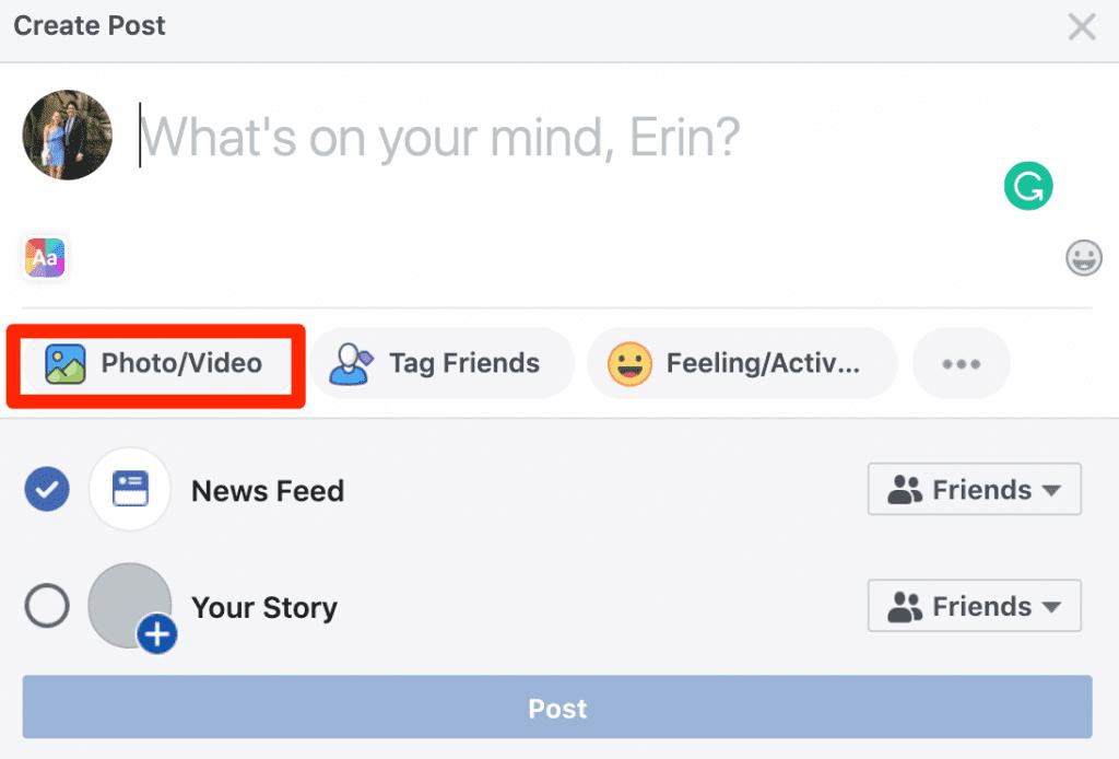 Add Videos to Facebook