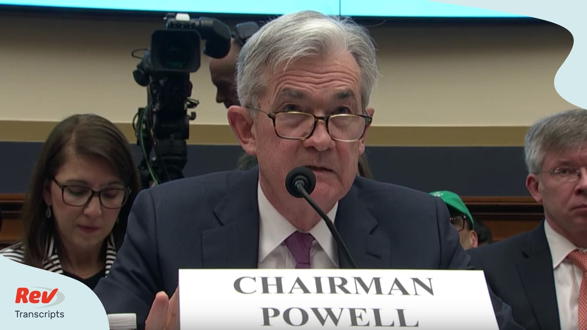 Jerome Powell Congressional Testimony Transcript