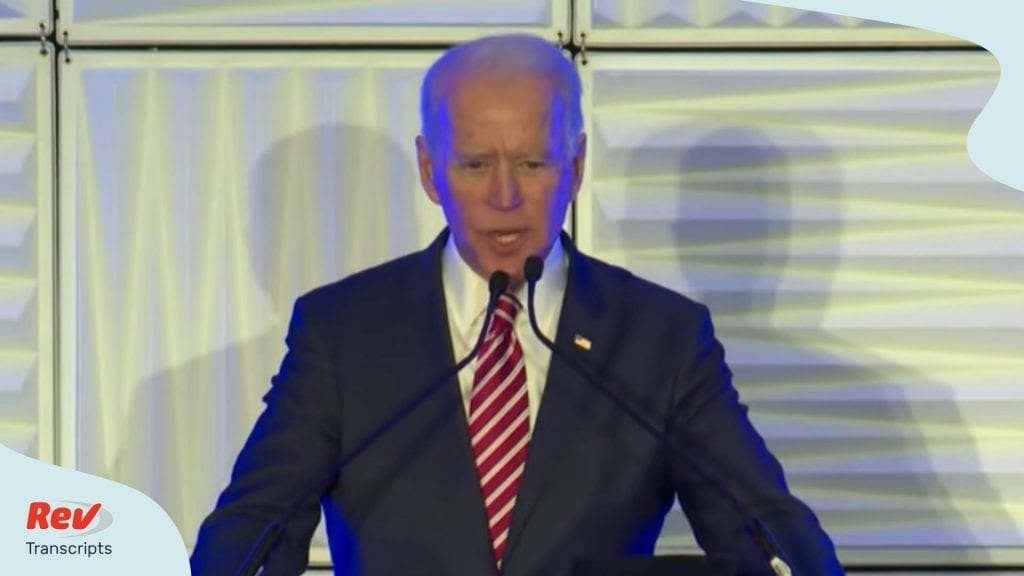 Joe Biden Mistake Says Running for Senate South Carolina Transcript
