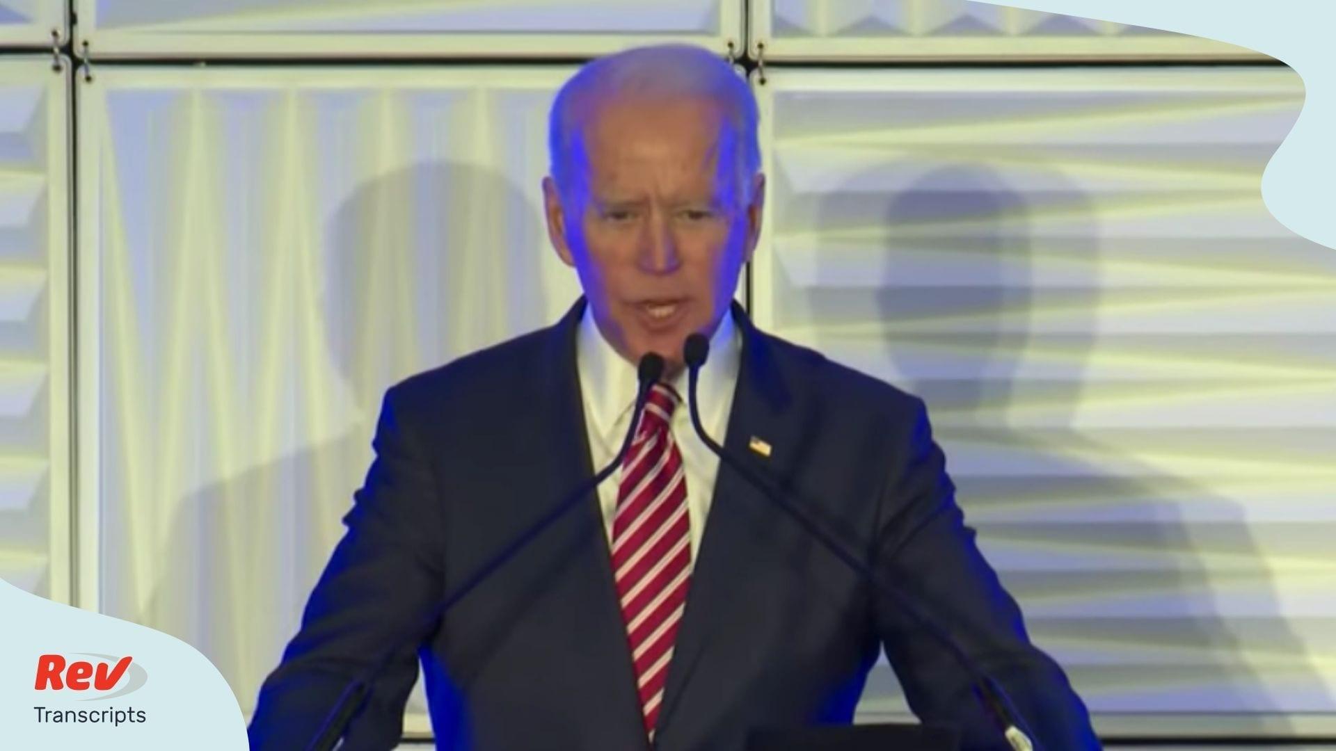 Joe Biden Mistake Says Running for Senate South Carolina Transcript