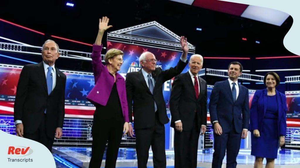 Las Vegas Nevada Democratic Debate Transcript