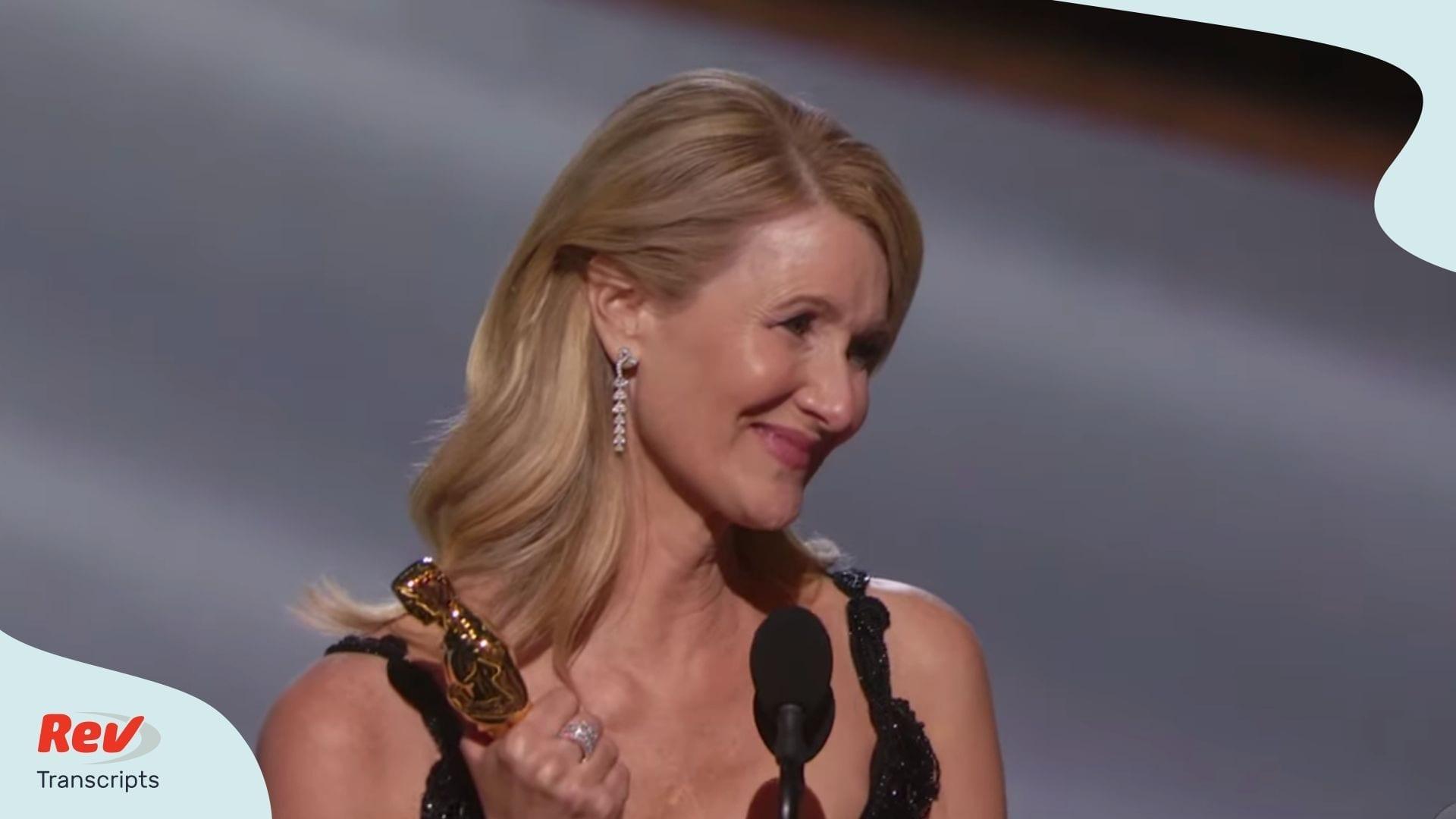 Lauras Dern Academy Awards Acceptance Speech Transcript