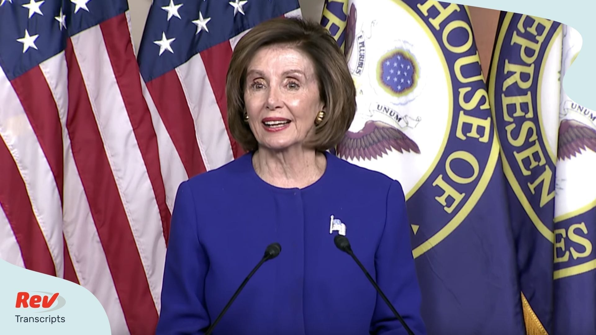 Nancy Pelosi News Conference Transcript Feb 13