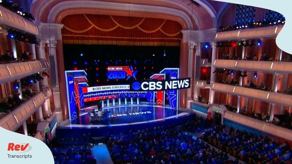 South Carolina Democratic Debate Transcript Feb 25 2020